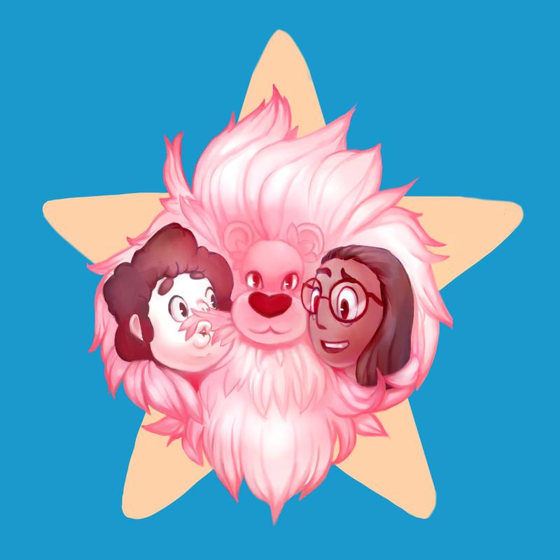 Steven Universe Design Contest 2 Fluffy Pink Mane by ApplFruit