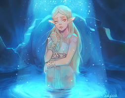 BotW Zelda by Zeighous