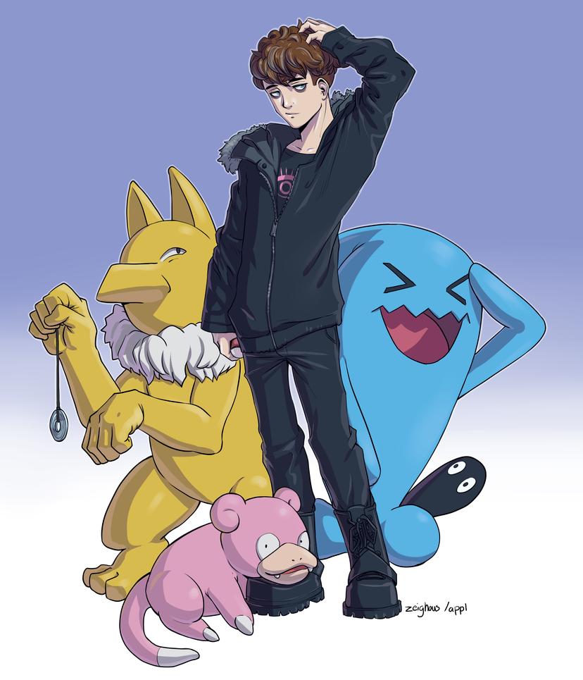 Pokemon Crew by Zeighous