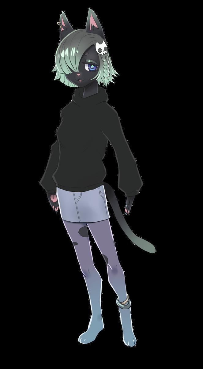 Goth Cat Girlfriend