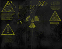 yellow black wallpaper by azest911