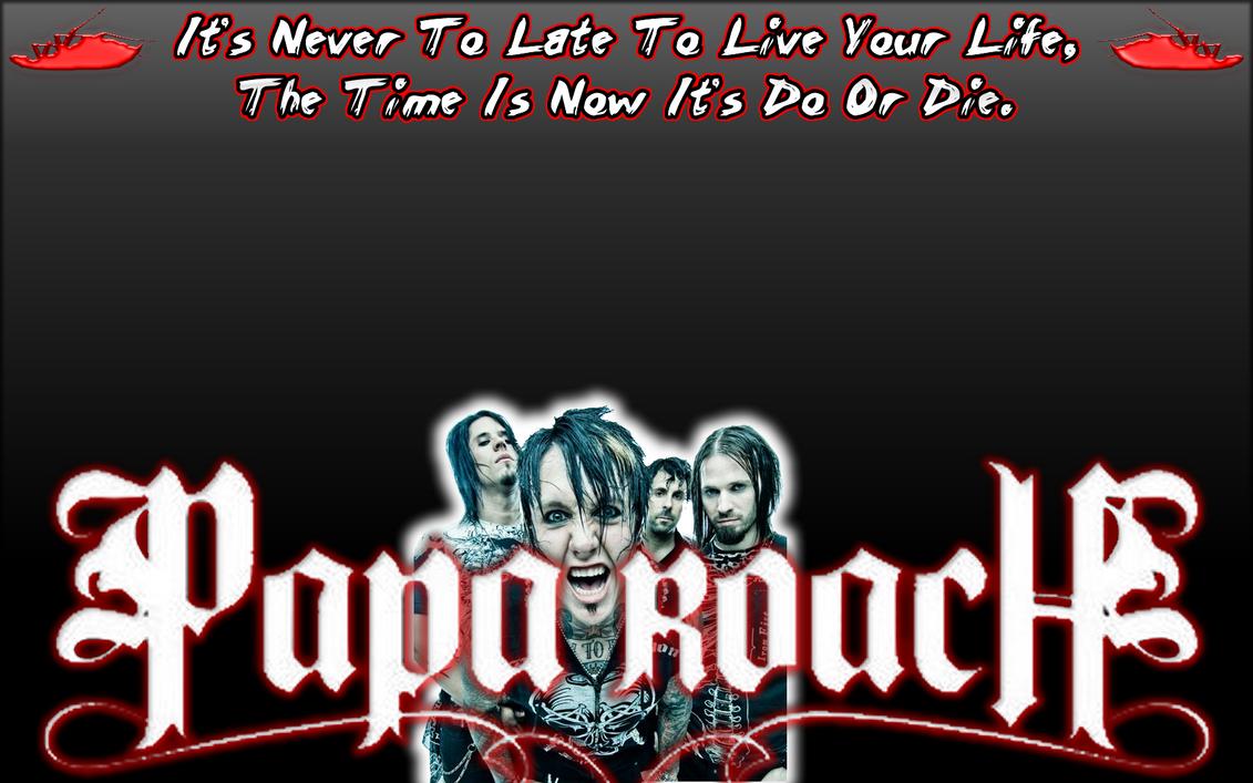 Papa Roach Tour Poster