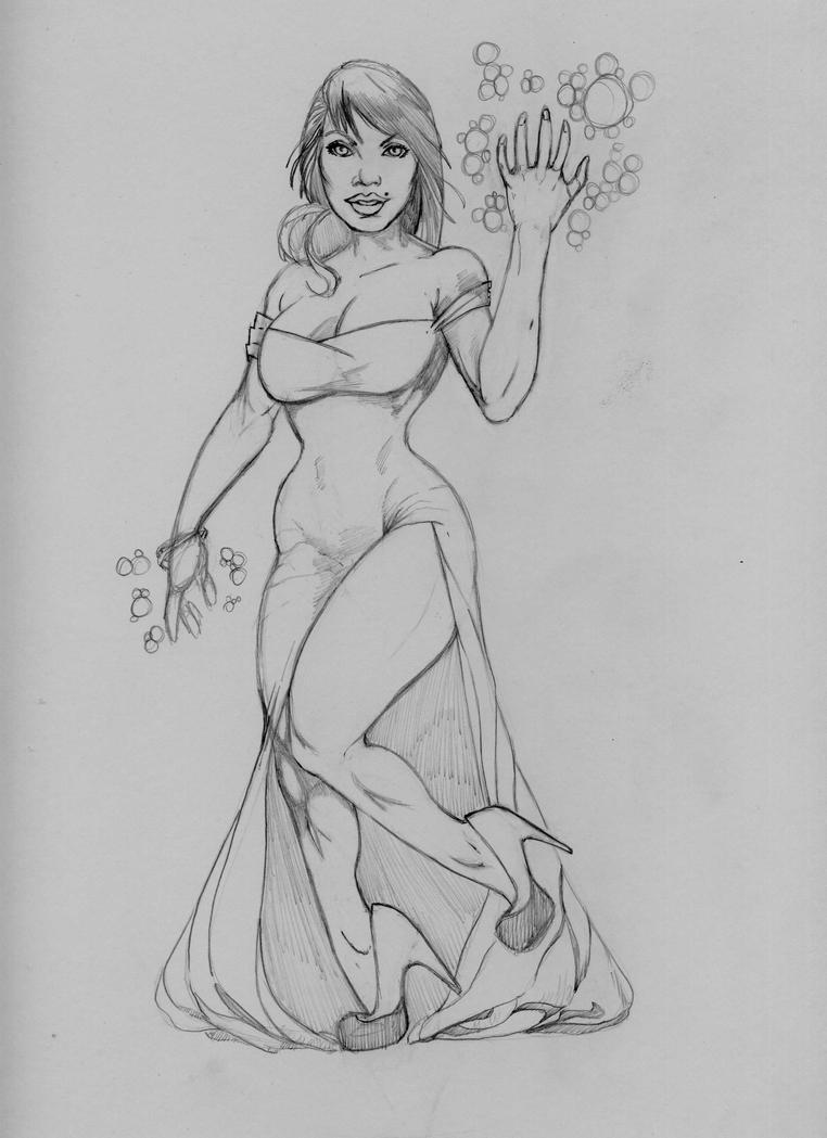 Rabbit or Sorceress by mez1602