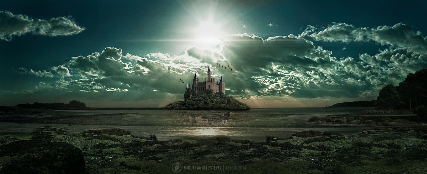 Floating Castle by Mig...