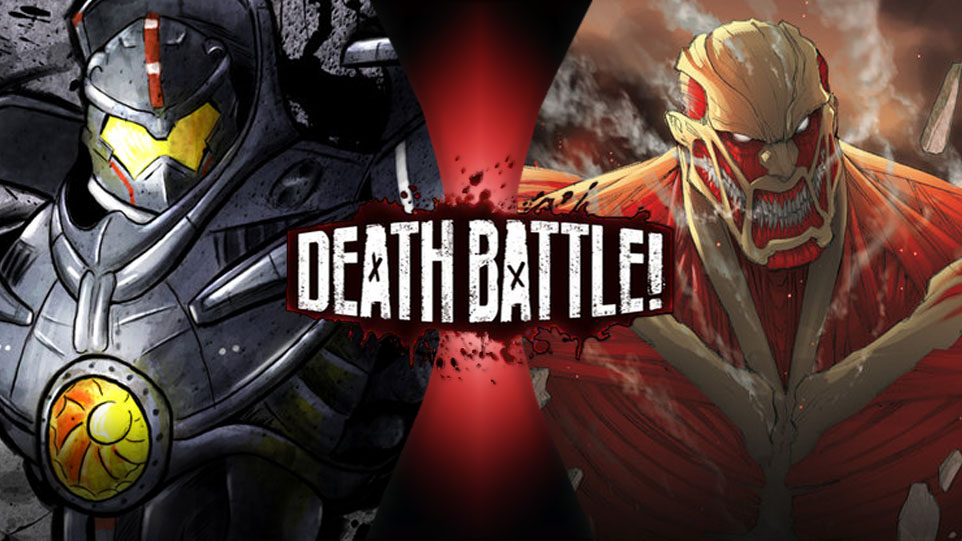 Death Battle Gypsy Danger vs. Colossal Titan by 8670310 on ...