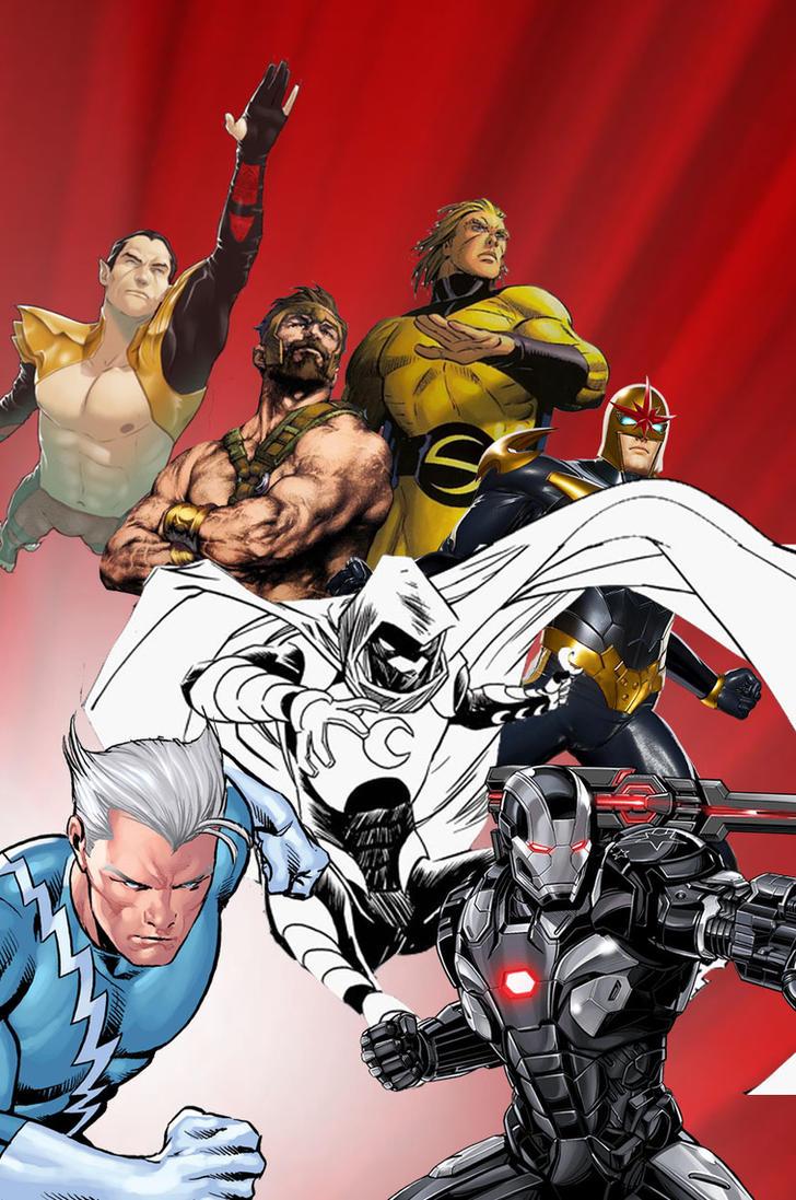 Justice League Marvel