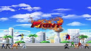 Justice League vs. Justice League FIGHT