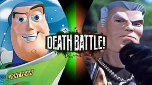 Death Battle Buzz Lightyear vs. Major Chip Hazard