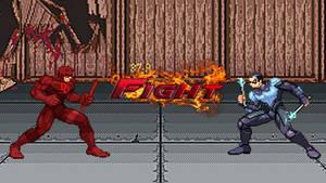 Daredevil vs. Nightwing FIGHT