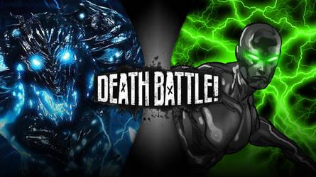 Death Battle Savitar vs. Dark Surfer by Bluelightning733