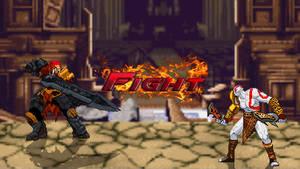 Kratos vs. War FIGHT