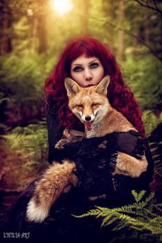 Foxes kisses