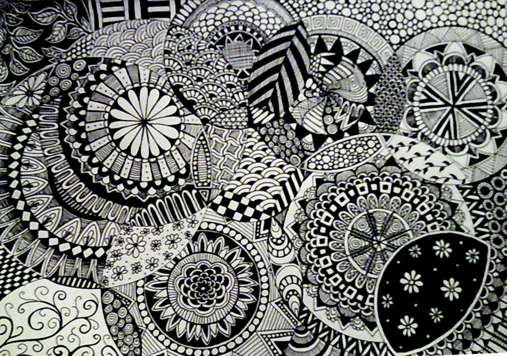 Zentangle Circles by chandelicious on DeviantArt