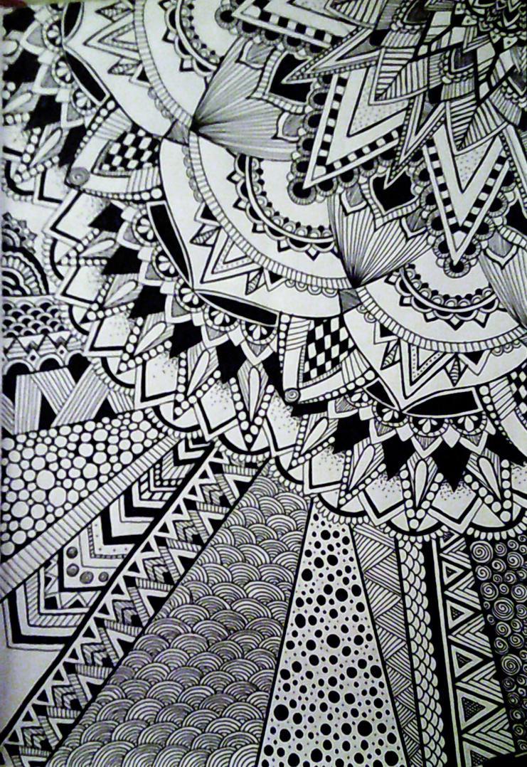 Zentangle By Chandelicious On DeviantArt