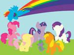 Minimalist Ponies