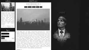 Ordered blog design