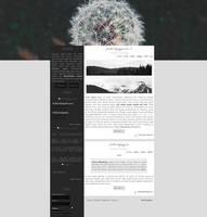 Ordered blog design 3# by Efruse