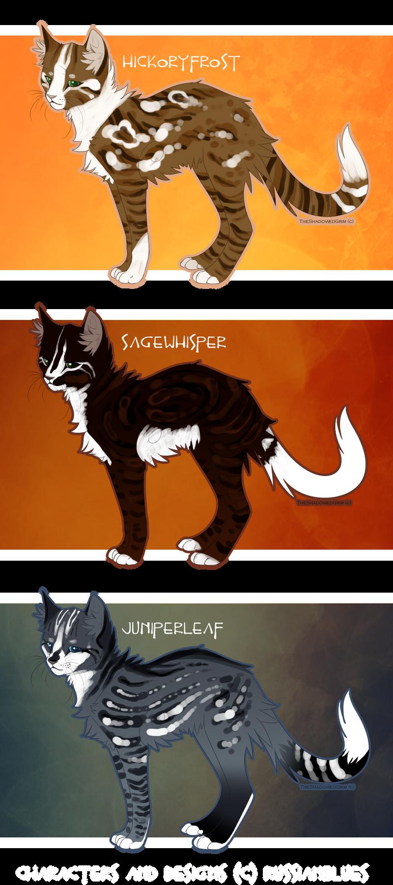 Warrior Cat Designs by RussianBlues on DeviantArt