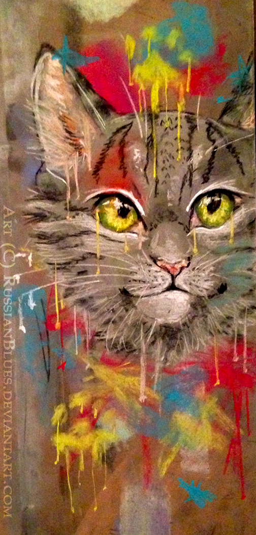 Graffiti Cat by RussianBlues