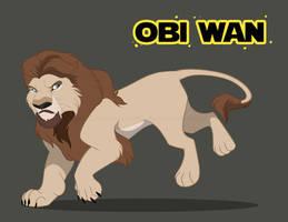 The Jedi King #26 - Adult Obi Wan Kenobi by RussianBlues