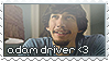 Adam Driver Stamp by RussianBlues