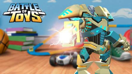 Rigel from Battle of Toys by ihsnetonoruk