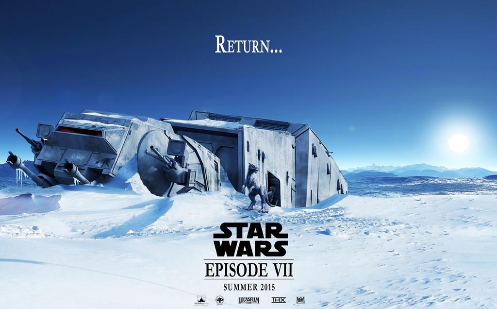 Star Wars Episode 7 Mockup Poster by HanSagan