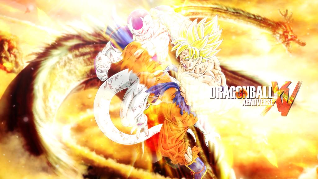 Dragon Ball Xenoverse XV Goku Vs Frieza Wallpaper By Momen Aly
