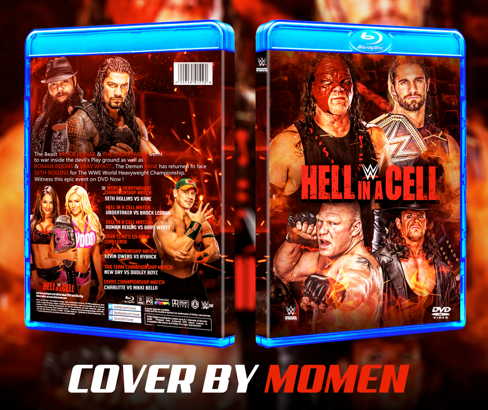 WWE Hell in a Cell 2015 - The Undertaker vs. Brock Lesnar inside Hell in