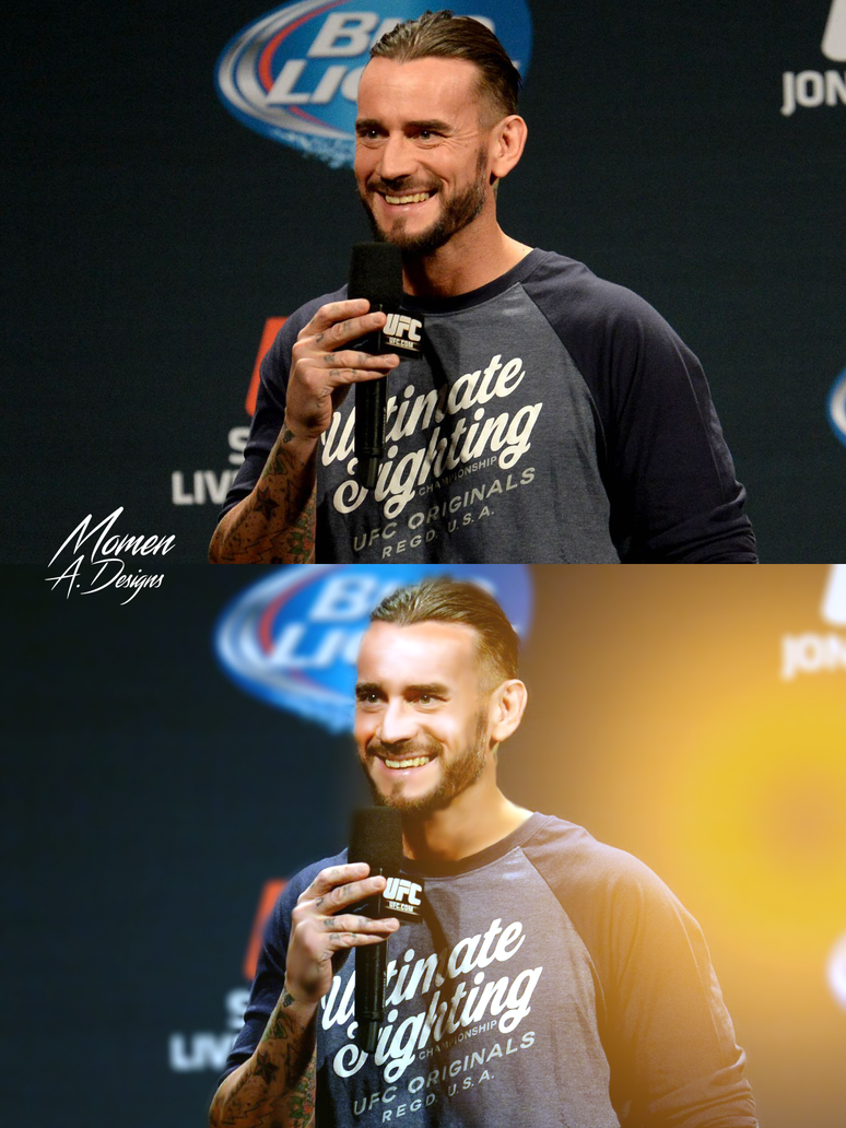 CM Punk Retouch by Momen-Aly