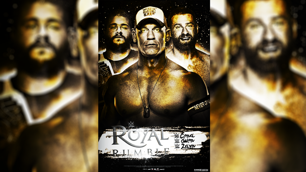 WWE Royal Rumble 2016 Poster (WWE WNOG) by Momen-Aly