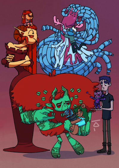 Ava's Demon by KagaminLight