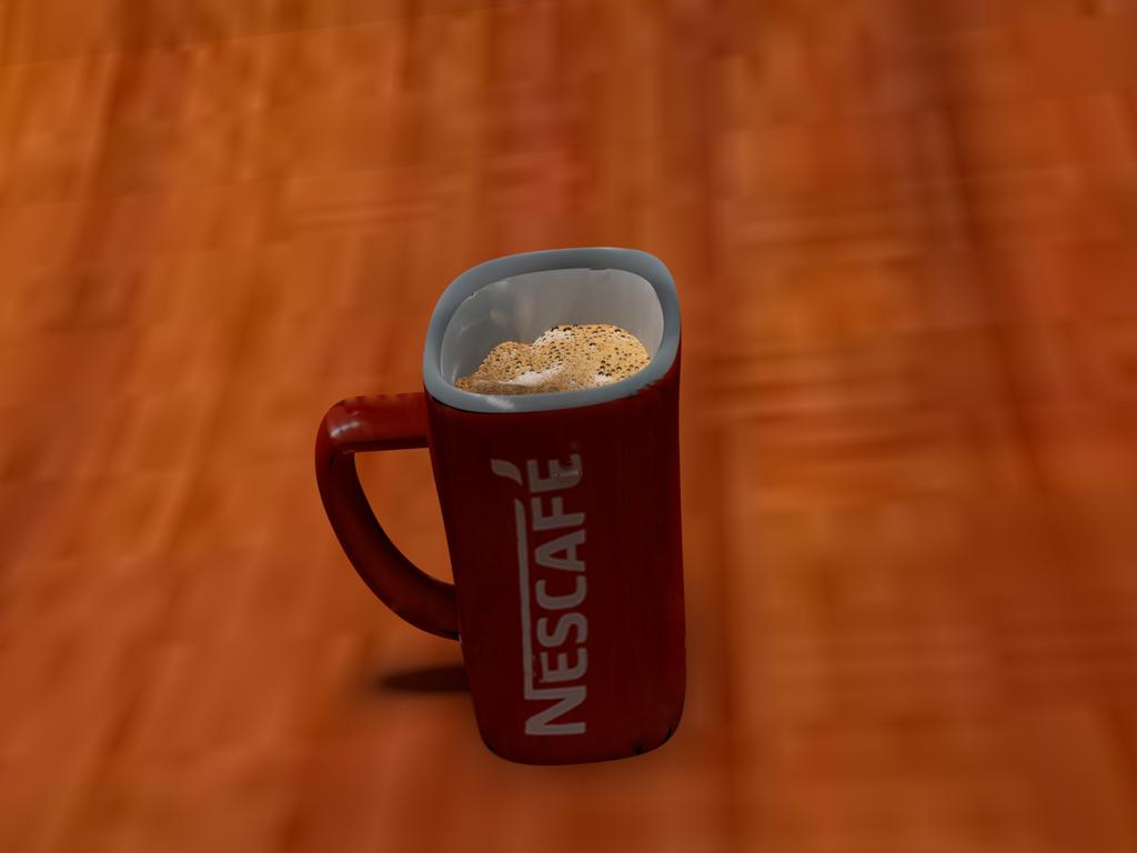 Blender: Nescafe cup by DangerEye98