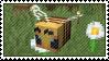 minecraft bee | stamp