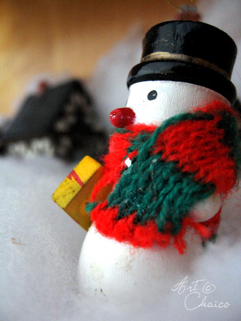 Bonhomme de neige by Chaico
