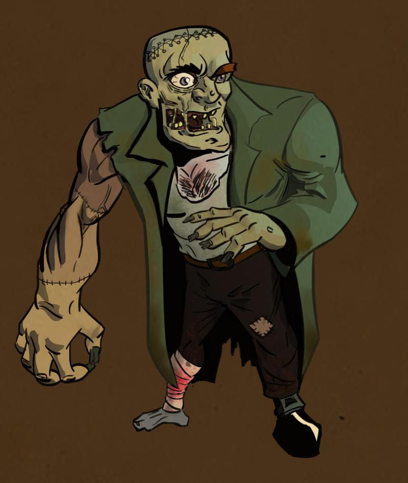 Frankenstein' munster by veselin-panayotov