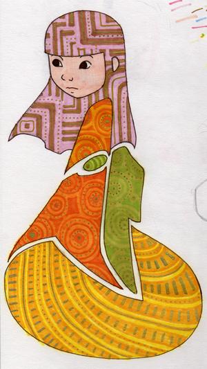 1: kimono girl by jinnybear
