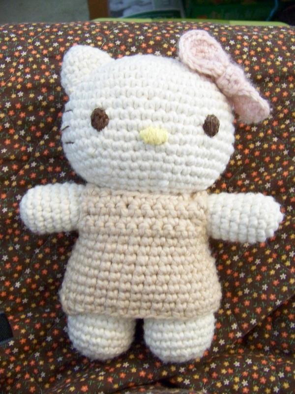 Crochet Amigurumi Kitty : Crochet: Hello Kitty Amigurumi by jinnybear on DeviantArt