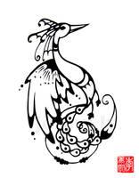 Tattoo: Phoenix by jinnybear