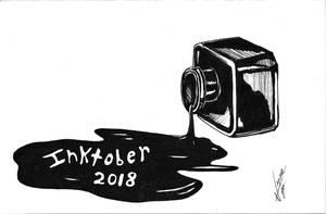 Inktober 2018 bonus end-of-the-challenge art