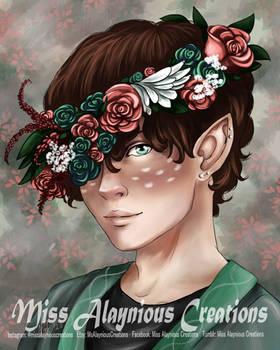 Kiri with Flower Crown