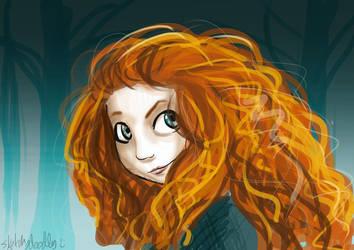 Brave by sketchy-doodles
