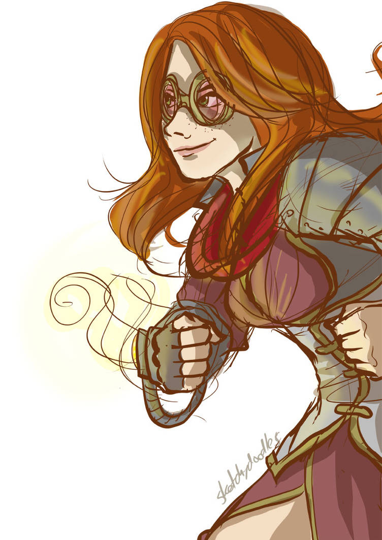 Chandra Ravnica Style by sketchy-doodles