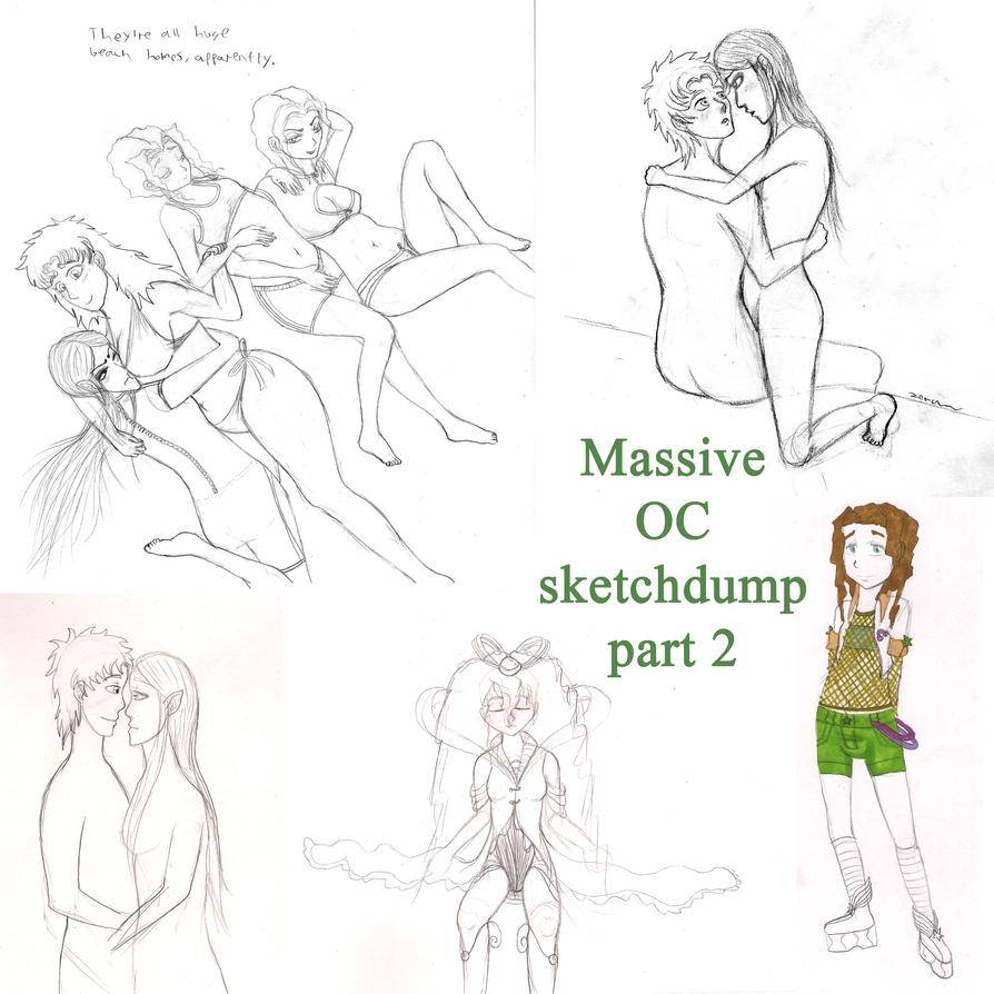 Massive OC sketchdump part 2 by ZuperZora89