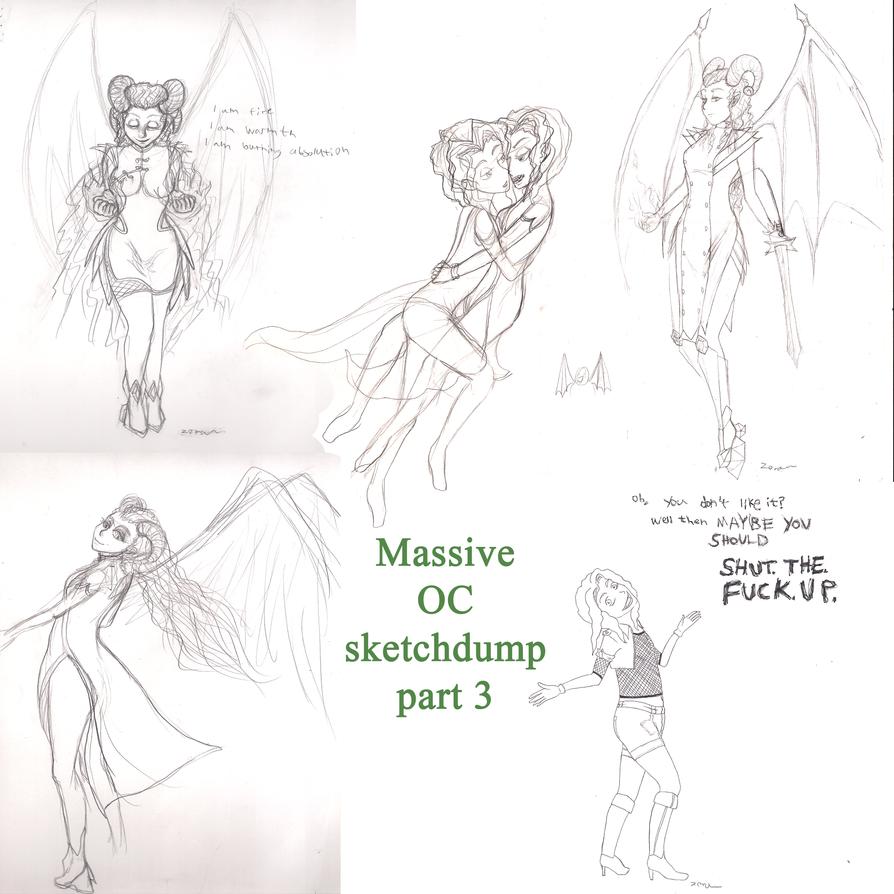 Massive OC sketchdump part 3 by ZuperZora89