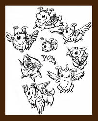1838 Sketch Page [AT] by leaforia