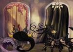Through the Door by leaforia