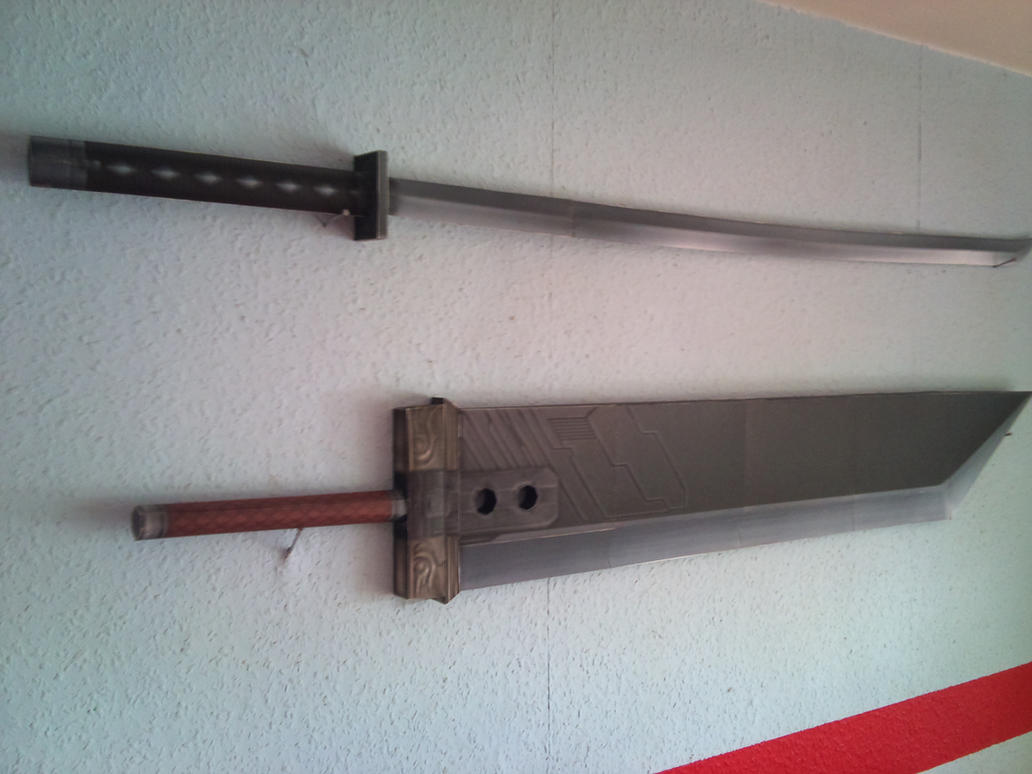 how to make a strong paper katana