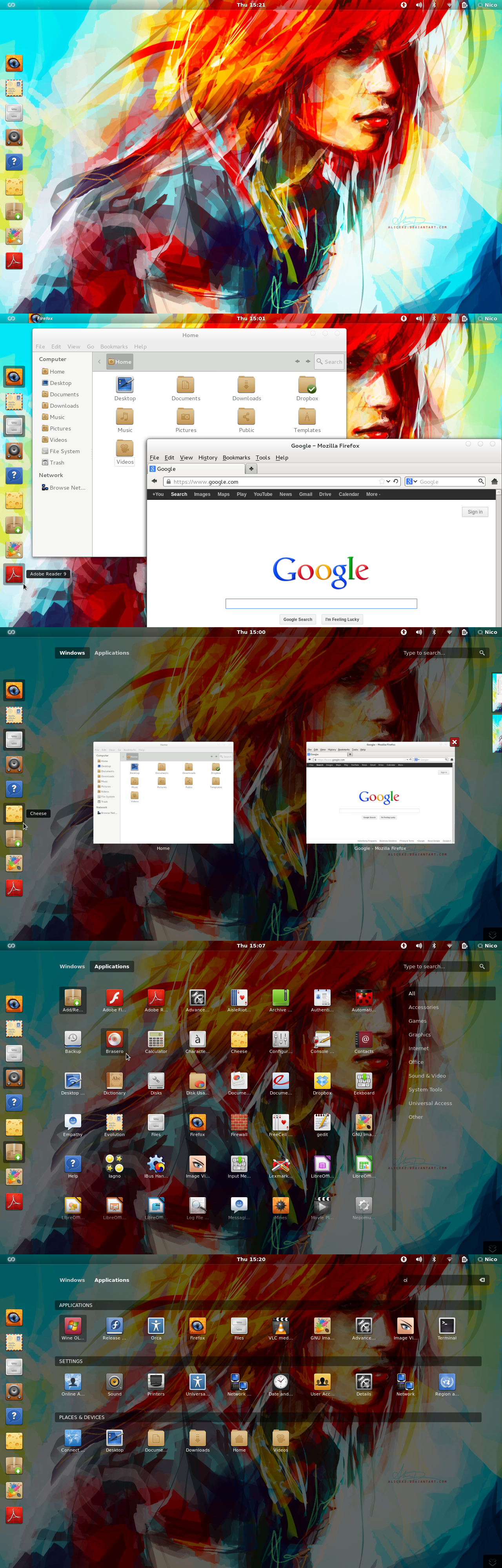 Desktop screenshot II