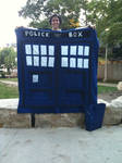 Tardis Quilt - Double by chibi-lenne